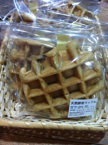北川さんワッフル